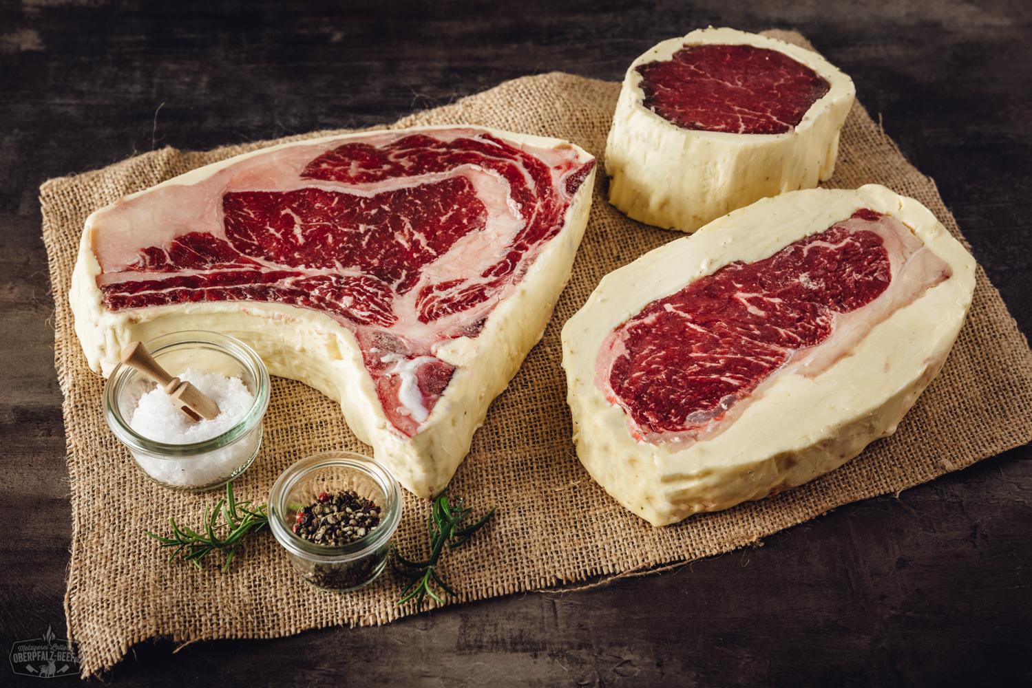 Butter Aged Steaks